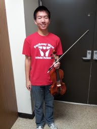 Anthony Su receives title of Concert Master at All-State Conference