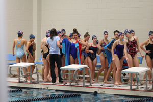 Girl's swim team takes second place
