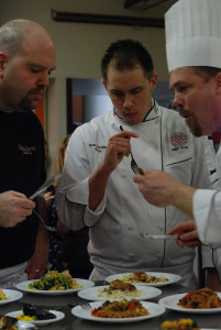 Culinary students take home second place at cook-off