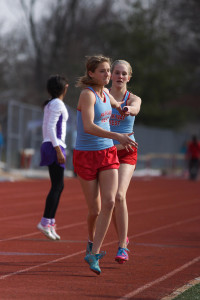 Girl's Track Relay team top 25 in state