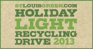Holiday light recycling drive