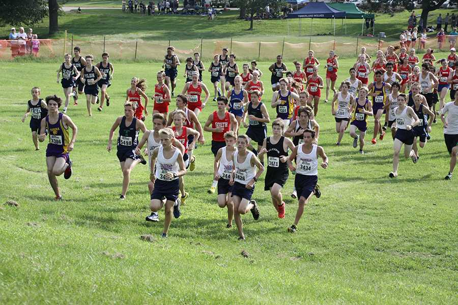 Boys Freshman Cross Country end winless drought