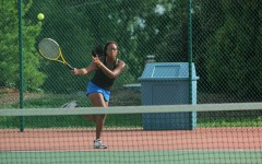 Girls Tennis swings into districts