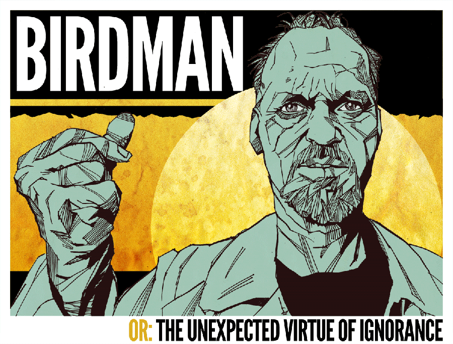 """""""Birdman or The Virtue of Ignorance"""" review"""