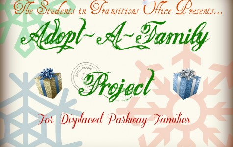 Parkway Students in Transition Office launches Adopt-A-Family project