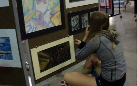 Art students display a year of creativity
