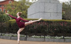 Student dancers reach the high barre of excellence