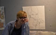 Senior Cara Crowley unveils the secrets of her art