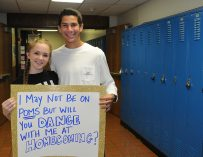 Students acknowledge date stigma at Homecoming