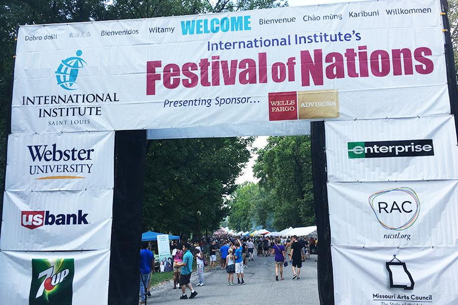 Students attend 16th annual Festival of Nations