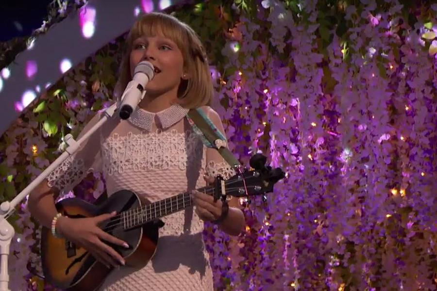 Grace VanderWaal steals America's Got Talent