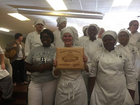 Chryssi Magee places first in the Incredi-Bowl of Ice Cream