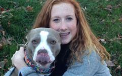 Junior Sydney Veltman spreads holiday cheer to animals in need
