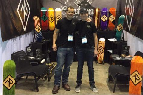 Cody Corbin displays skateboard line at Orlando showcase