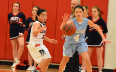 Freshmen girls basketball end season strong