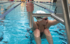Freshman Abby Pfeifer swims her way to success