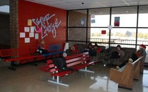 Senior lounge off limits during class