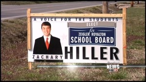 Indiana student runs for his school board