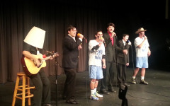 The first song was Afternoon Delight, sung by seniors Curtis Smith, Grant Post, Nick Pinilla, John Pappas, Sam Stroncek ,and Daniel Kim.