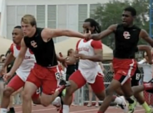 Track team banned after athlete gives thanks to God