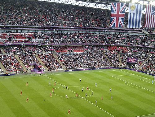 London's Wembley stadium, normally a soccer stadium, has hosted seven NFL games since the 2007 season.