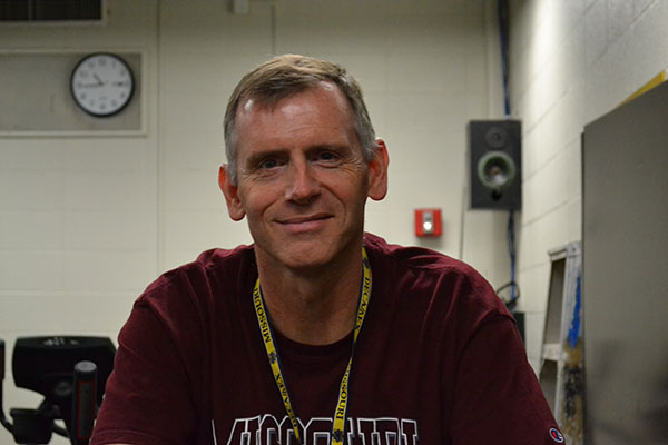 POW: Tim Corteville, physical education teacher
