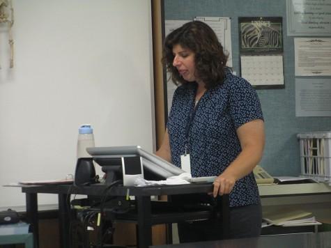 POW Amy Cohen, Science teacher