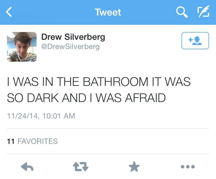 During+the+blackout%2C+senior+Drew+Silverberg+tweeted+his+unfortunate+location