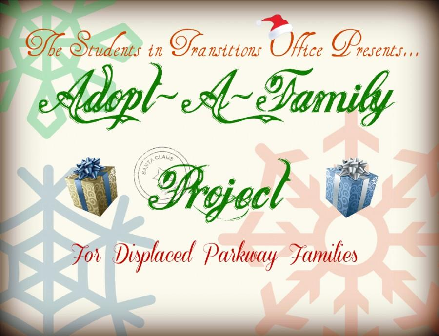 Parkway+Students+in+Transition+Office+launches+Adopt-A-Family+project