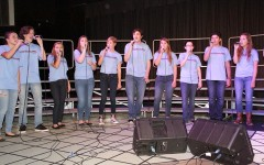 Jazz Choir performs at the Fall Choir Concert, Oct. 23.
