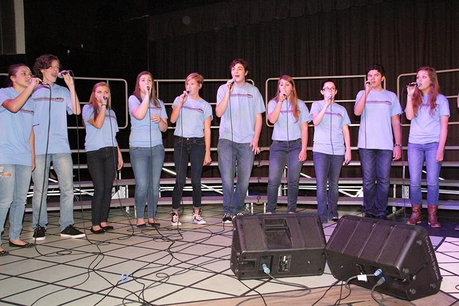 Jazz+Choir+performs+at+the+Fall+Choir+Concert%2C+Oct.+23.+