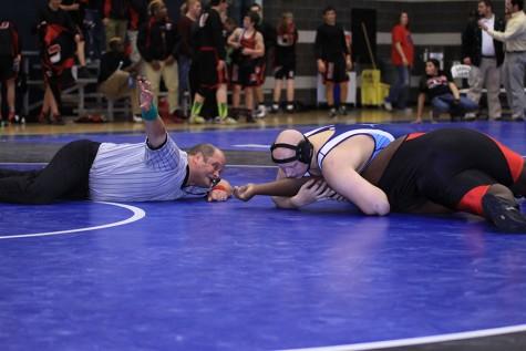 Wrestling rivalry showdown
