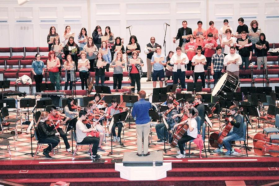 Music Department comes together at Masterworks