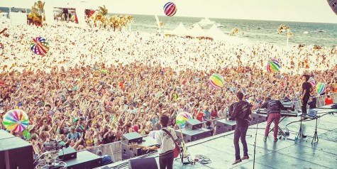 Capital Cities rock the stage at the Hangout Music Festival in Gulf Shores.
