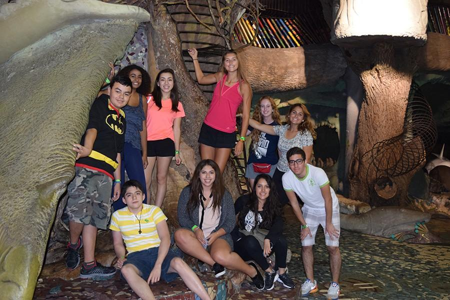 Students from Monterrey, Mexico explore St. Louis