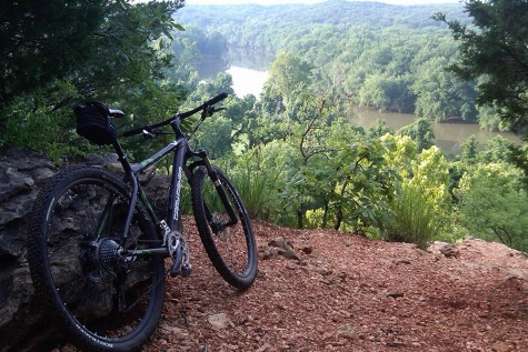 A view of the Meramec from a Castlewood trail.