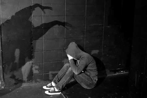 Photo illustration of mental illness