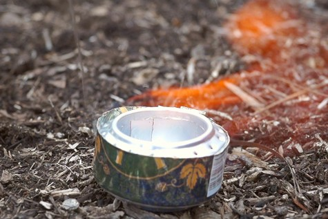 Make a camping stove with a soda can