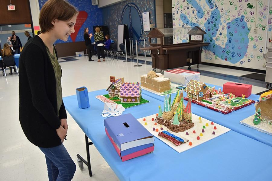 The+gingerbread+contest+was+held+in+the+cafeteria+on+Thursday%2C+Dec.+17+%5BGwenn+Pietrowski%2C+12%5D