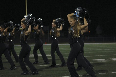 Junior Pharis Sippel talks about performing with the poms team