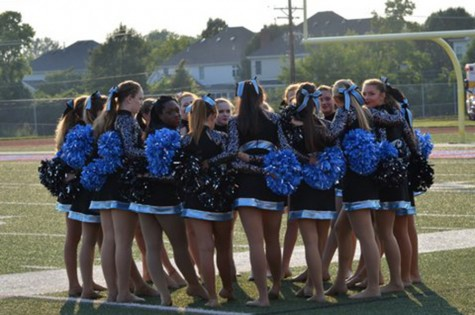 Sophomore Julia DeFrank discusses the ups and downs of her first year on poms