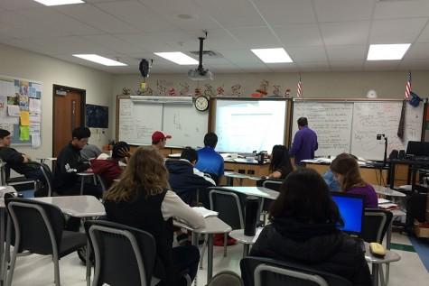 Seniors choose between AP exams and senior finals