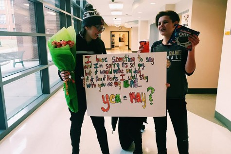Students get creative with King of Hearts proposals