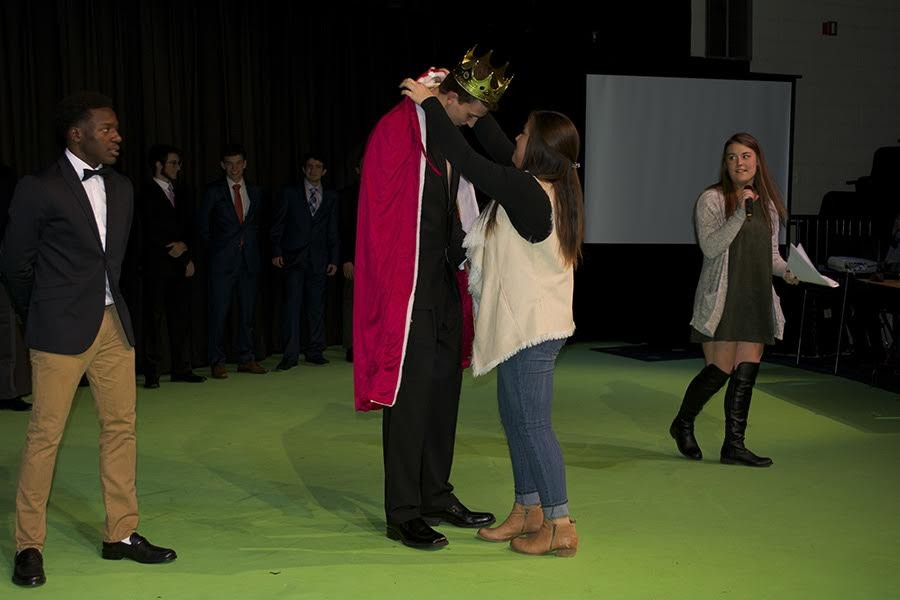 Senior Nick Lathrop discusses winning Mr. Longhorn
