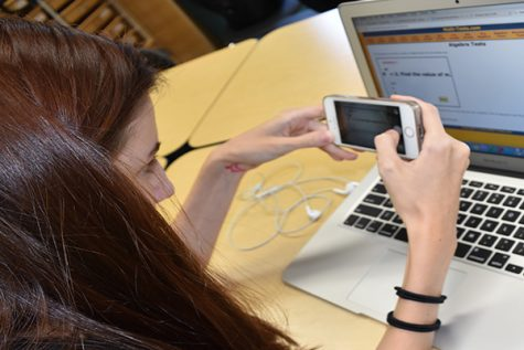 According to the Pwestpathfinder conducted survey, over 65 percent of students have seen or cheated on a test. Out of the 65 percent, five people admitted to using their phone to do so.