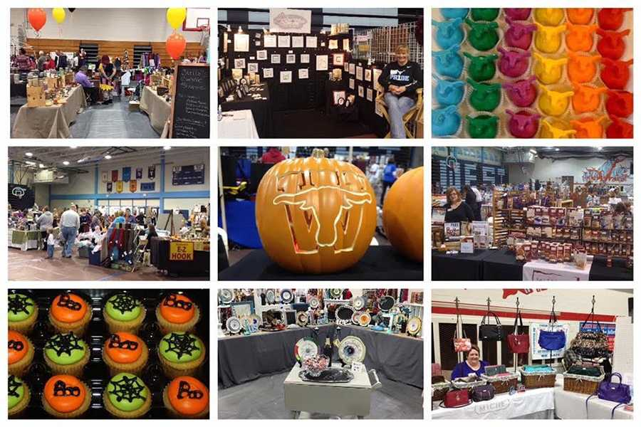 The annual Craft Fair features over 100 businesses that sell a wide range of products.