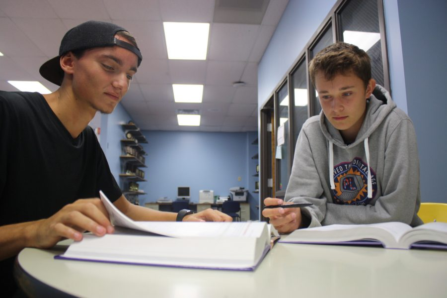 German exchange student Jakob Luxa joins the senior class
