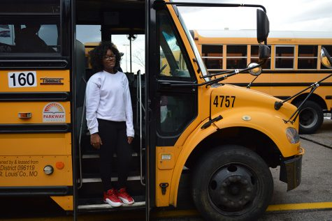 Freshman LaTasia Brooks calls 911 on bus to save student