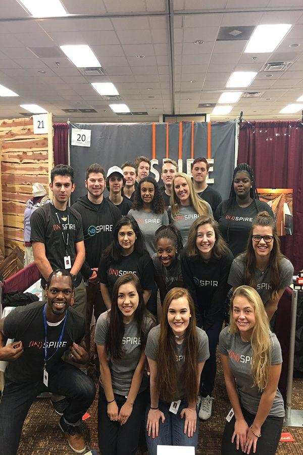 Virtual Enterprise students attend the Midwest Trade show in Gatlinburg, TN.