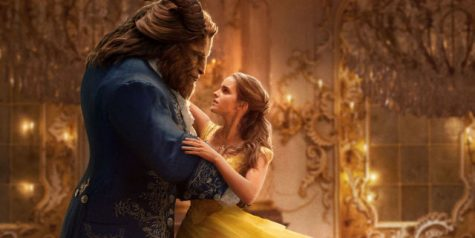 Beauty and the Beast's official theatrical release poster shows Emma Watson as Belle and Dan Stevens as the Beast.
